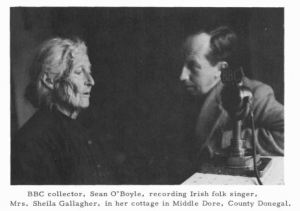 Sean O'Boyle Recording Picture